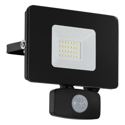 LED reflektor FAEDO 20W PIR černý