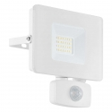 LED reflektor FAEDO 20W PIR bílý