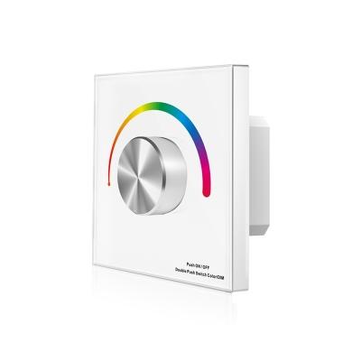 dimLED nástěnný RGB ovladač bezdrátový DUPLEX