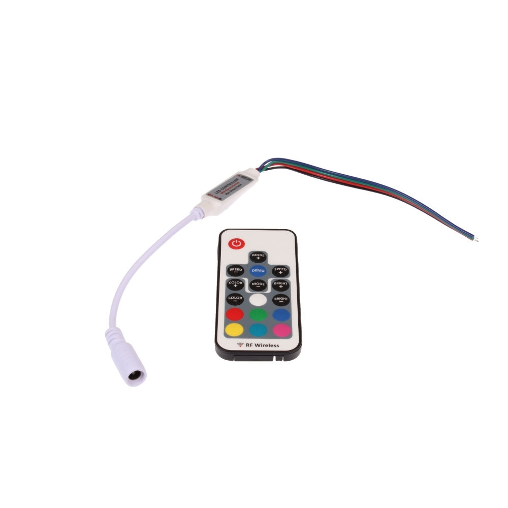 LED RGB mini 72W 17B ovladač
