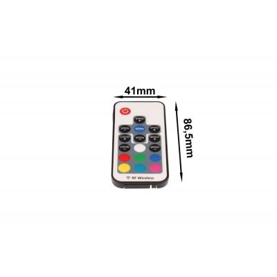 LED RGB mini 72W 17B ovladač