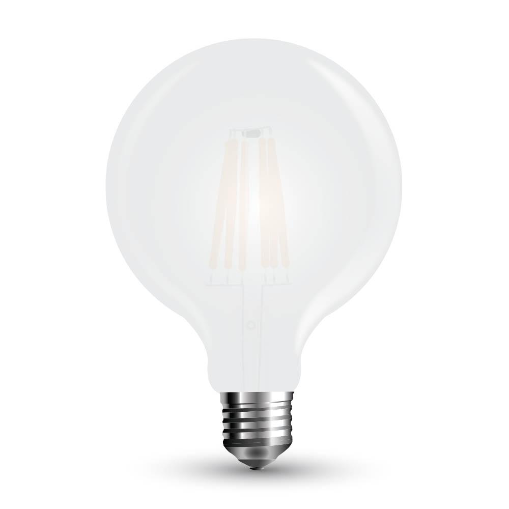 LED žárovka VT-2067 7W Filament G125 E27