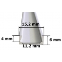 Nástěnný hliníkový LED profil 1 mikro