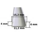 Nástěnný hliníkový LED profil 1mikro