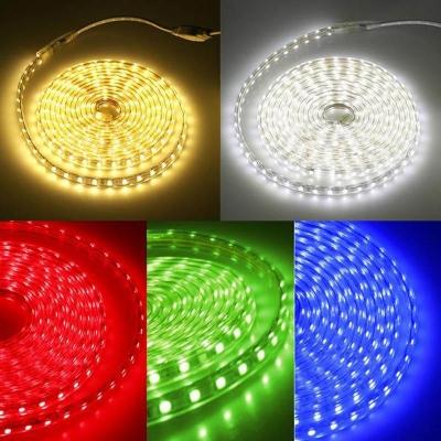 LED pásek 10W/m 230V RGB IP67