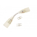 Spojka/propojka LED pásku NEON 230V