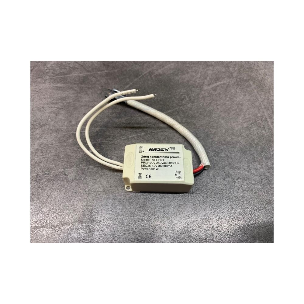 Zdroj konstantního proudu 3W/300mA