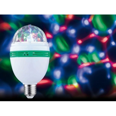 LED žárovka Motion Disco 1,5W E27 multicolor - PAULMANN