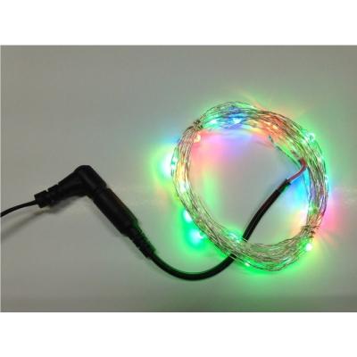 Dekorační řetěz RGB 10 metrů