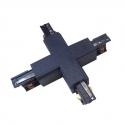 Křížová spojka 3F pro třífázovou lištu 3F černá