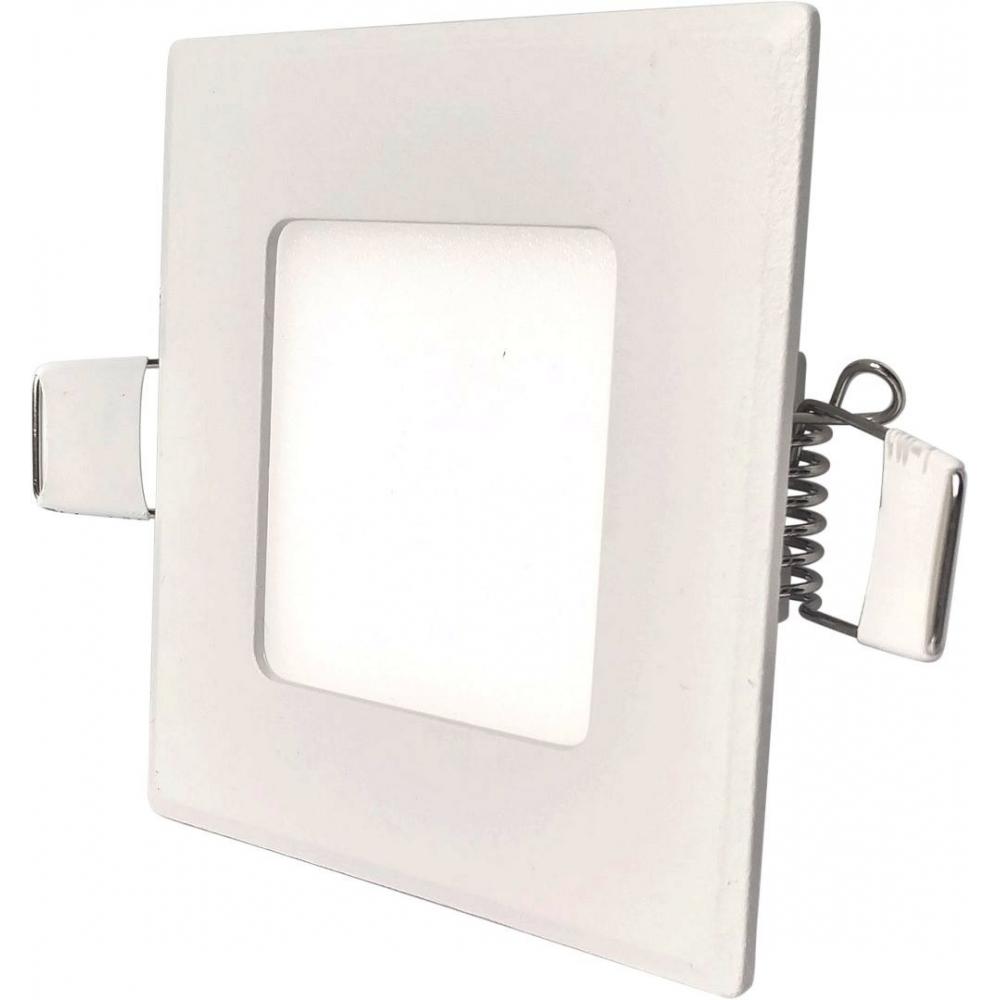 LED podhledové svítidlo VEGA 3W bílé hranaté