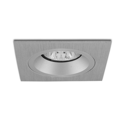 Podhledový rámeček Panlux HPD-HR50/AL hranatý pevný stříbrný