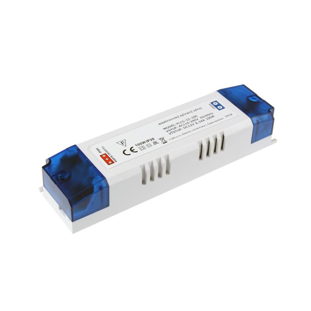 LED zdroj PLCS 100W 12V IP20