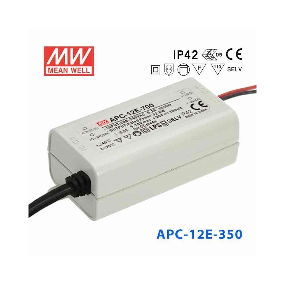 Zdroj konstantního proudu APC-12E-350 Mean Well