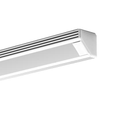 Rohový hliníkový LED profil 2 bílý lak
