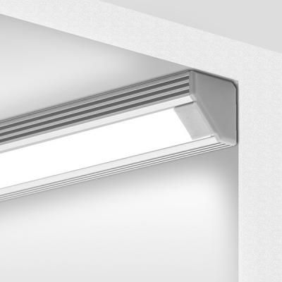 Rohový hliníkový ALU profil 2 bílý lak