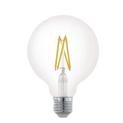 LED stmívatelná žárovka 6W Filament G95 E27