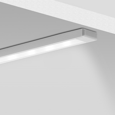 Nástěnný hliníkový LED profil Mikro 1
