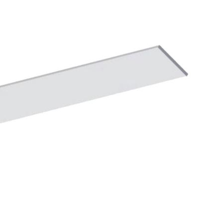 Plochý hliníkový LED profil 25x2