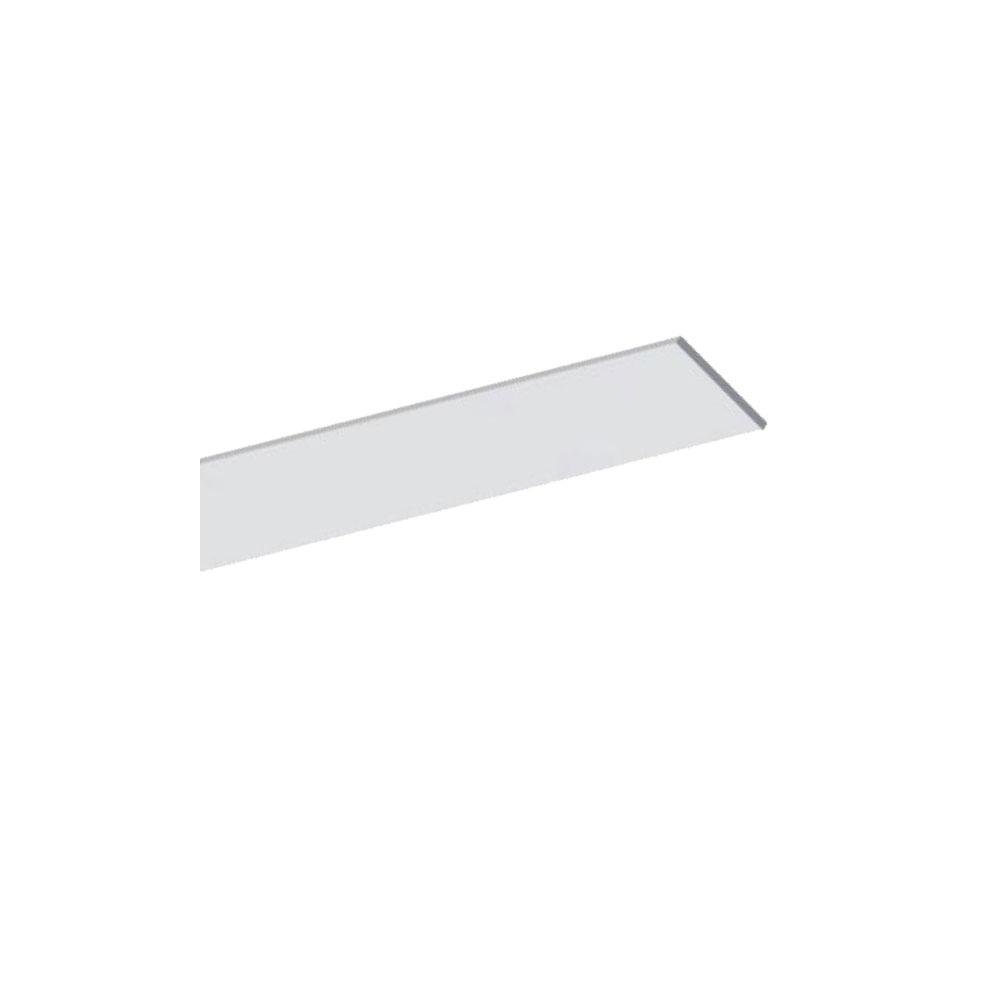 Plochý hliníkový ALU profil 25x2