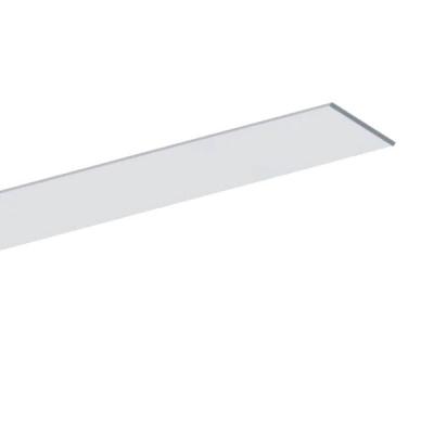 Plochý hliníkový LED profil 15x2