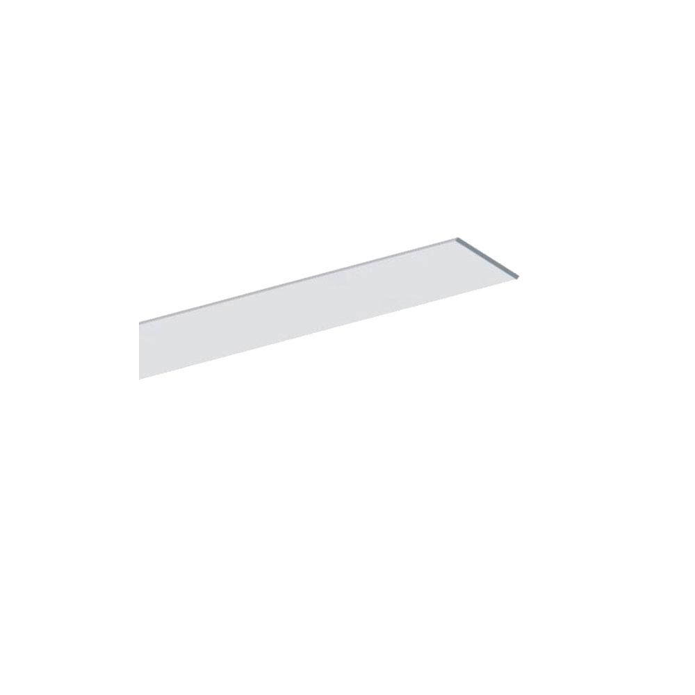 Plochý hliníkový ALU profil 15x2