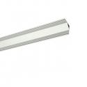 Rohový hliníkový LED profil Slim