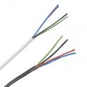 RGB kabel 4x0,5mm kulatý