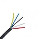 Kabel 5x0,75mm2 vhodný pro RGBW LED pásky