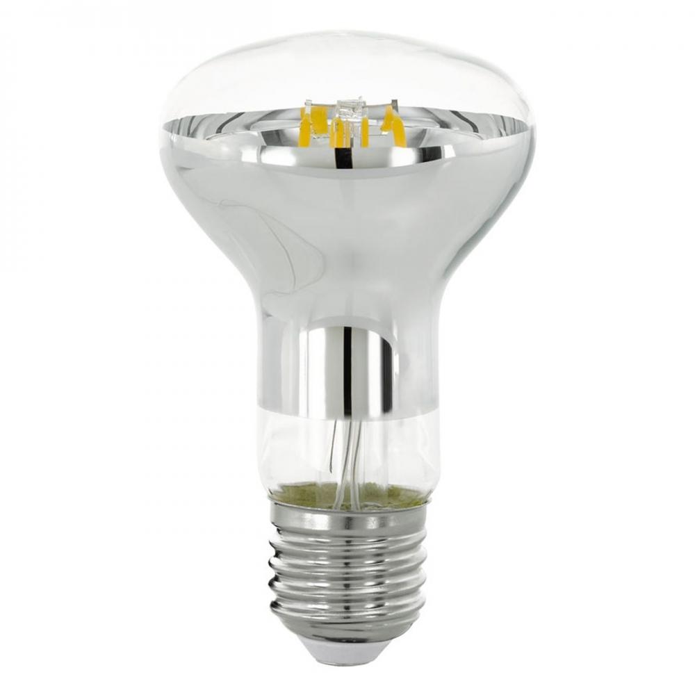 LED stmívatelná žárovka 6W Filament R63 E27