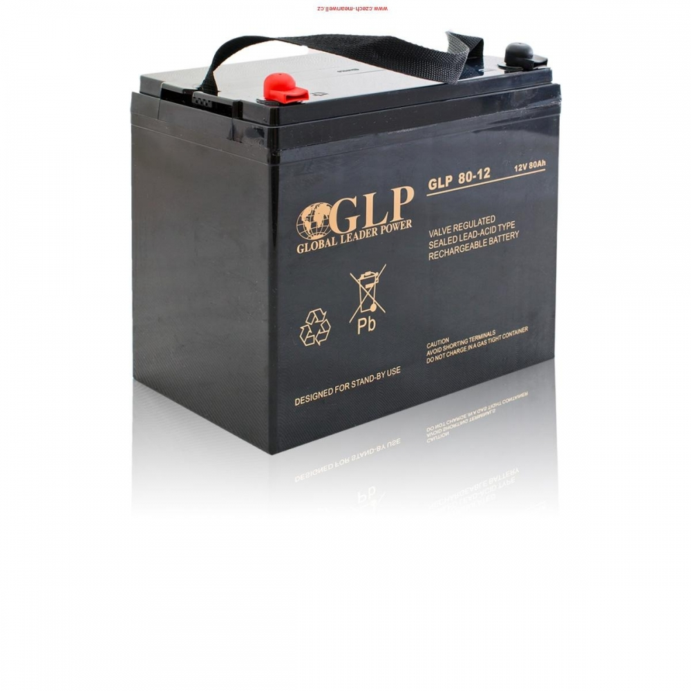Bezúdržbový záložní akumulátor/baterie VRLA - AGM 80Ah/12V