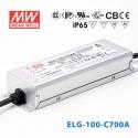 Zdroj konstantního proudu ELG-100-C700 Mean Well