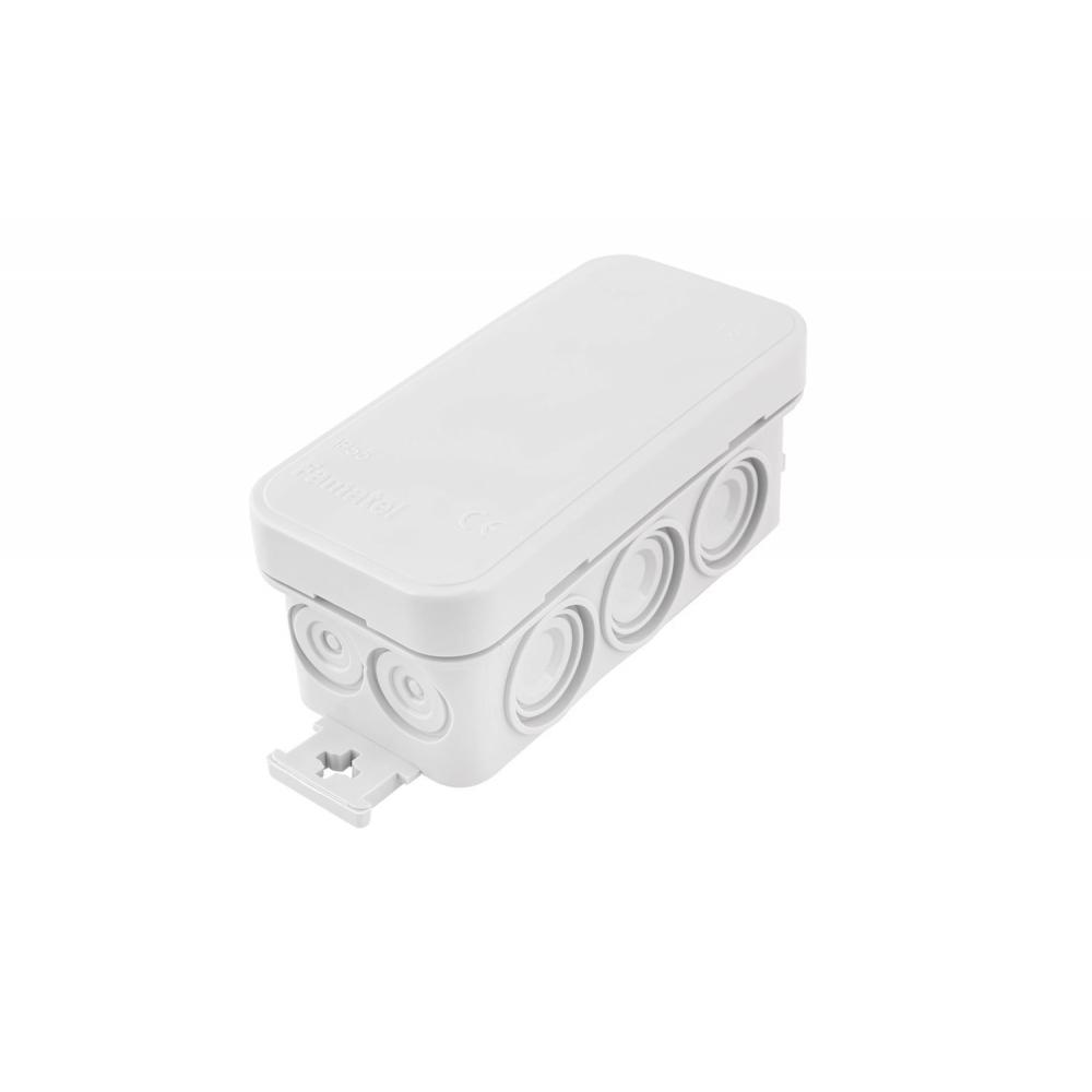 Krabice K6 IP54 rozbočovací, s naklapávacím víčkem, 80x43x36mm