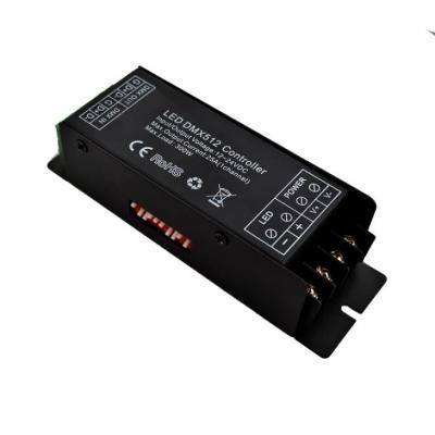 LED dekodér DMX 512 jednokanálový 25A