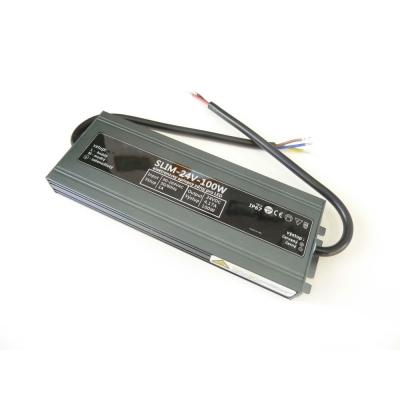 Voděodolný napájecí zdroj SLIM 100W 24V