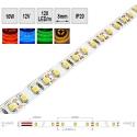 Barevný LED pásek 10W/m 12V IP20