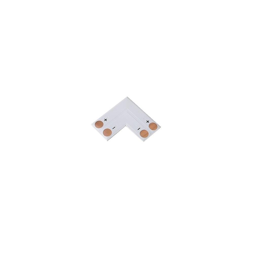 Pájivá 8mm rohová spojka pro jednobarevné LED pásky