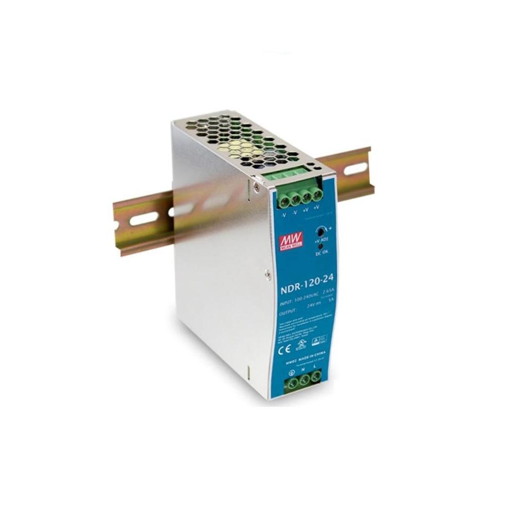 LED zdroj 24V 120W Mean Well NDR-120