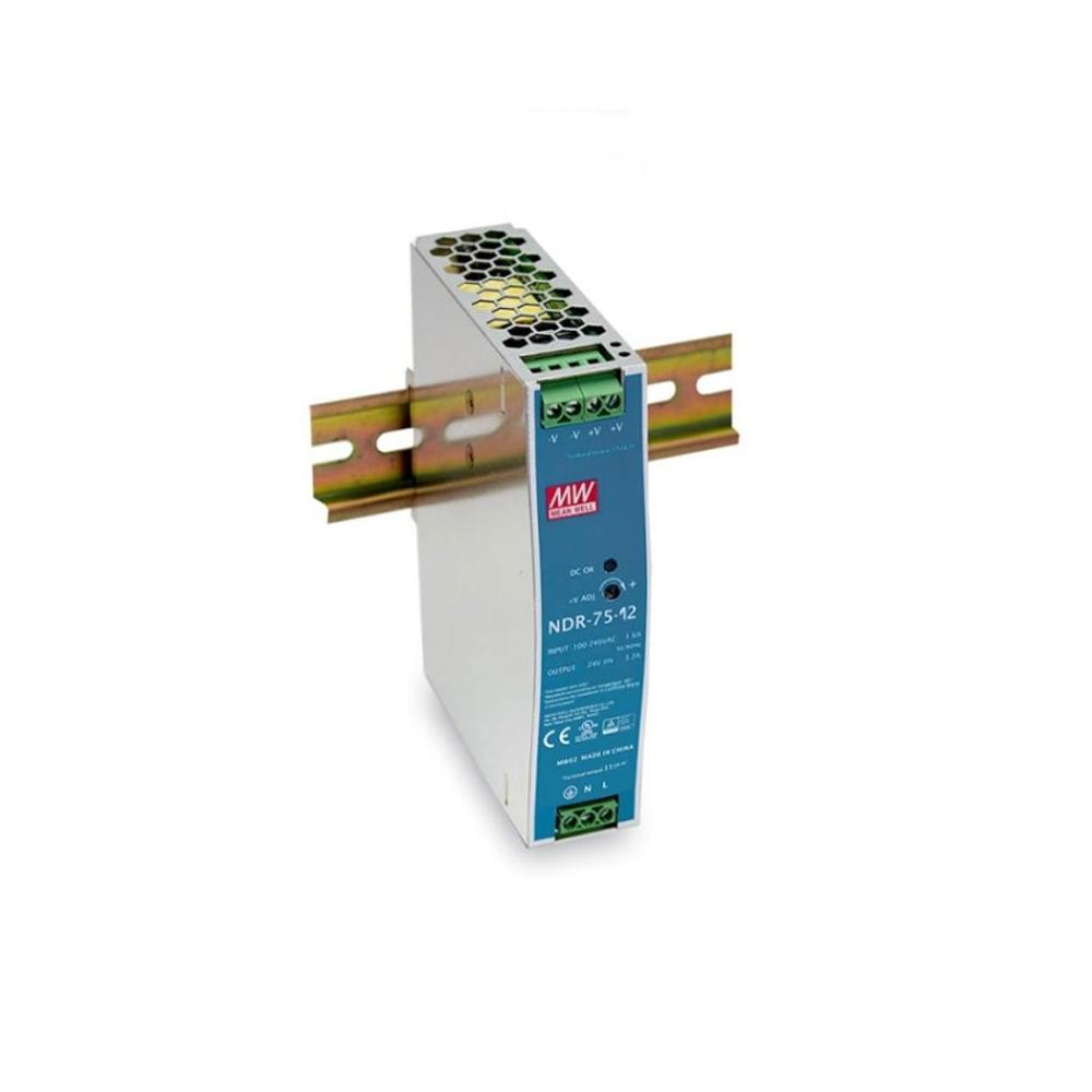LED zdroj 12V 75W Mean Well NDR-75