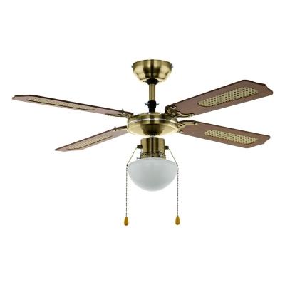 Stropní ventilátor TIGGANO se světlem 1xE27