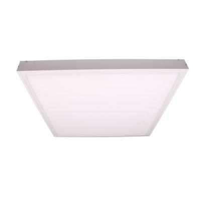 Bílý rám LED panelu 6060 pro přisazení