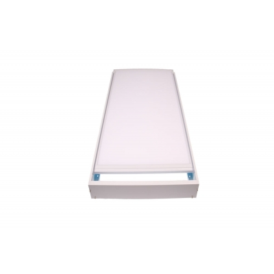 Bílý rám LED panelu E30120 pro přisazení
