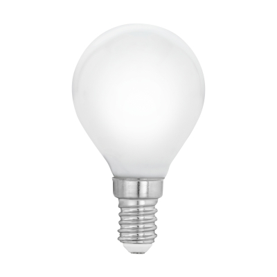 LED žárovka opal 4W P45 E14 Eglo