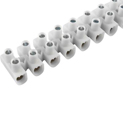 Svorkovnice 12mm2 12 pozic bílá