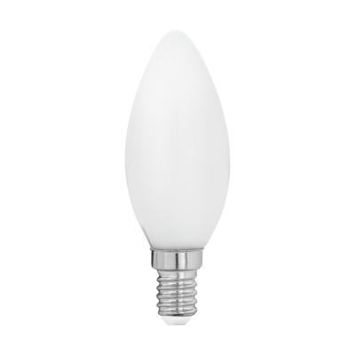 LED žárovka svíčka opal 4W C35 E14 Eglo