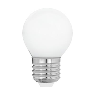 LED žárovka opal 4W G45 E27 Eglo