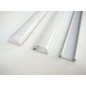Nástěnný hliníkový LED profil TUBE