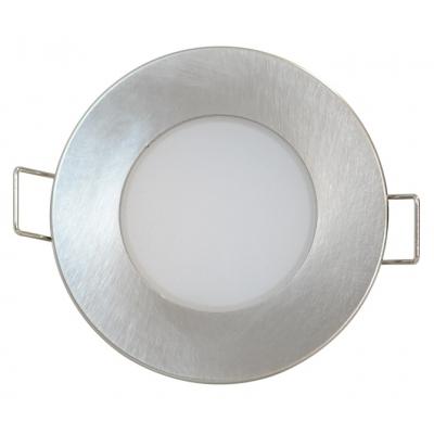 LED podhledové svítidlo BONO-R 5W matný chrom