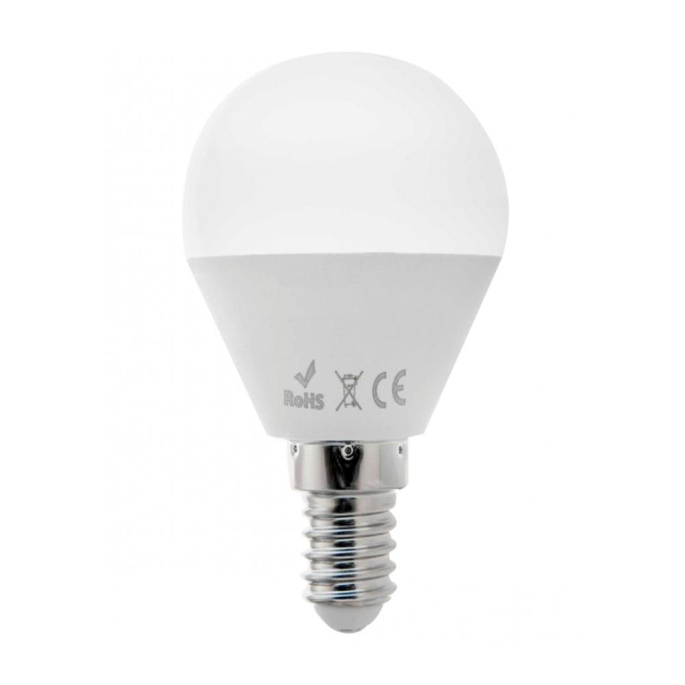 LED žárovka mini 5W E14 teplá bílá