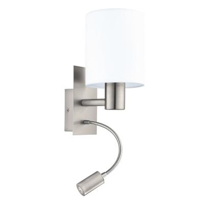 Nástěnné svítidlo PASTERI 1xE27 + LED